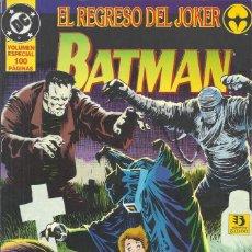Cómics: BATMAN EL REGRESO DEL JOKER. Lote 210526240