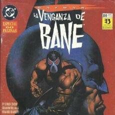 Cómics: BATMAN LA VENGANZA DE BANE 1 Y 2. Lote 210526282