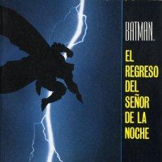 Cómics: BATMAN EL SR. DE LA NOCHE COMPLETA 1 TOMO PREMIO HAXTUR CAJA 189 ISA AÑO 1987. Lote 210545560