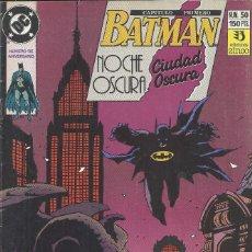Cómics: BATMAN NOCHE OSCURA CIUDAD OSCURA 1 Y 3. Lote 210550836