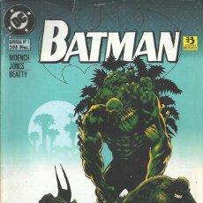 Cómics: BATMAN ESP 1 CROC+COSA PANTANO. Lote 210551673
