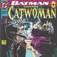 Cómics: BATMAN CONTRA CATWOMAN. Lote 210552665