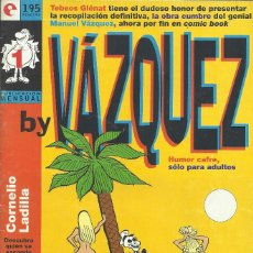 Cómics: BY VAZQUEZ 1-4. Lote 210553678