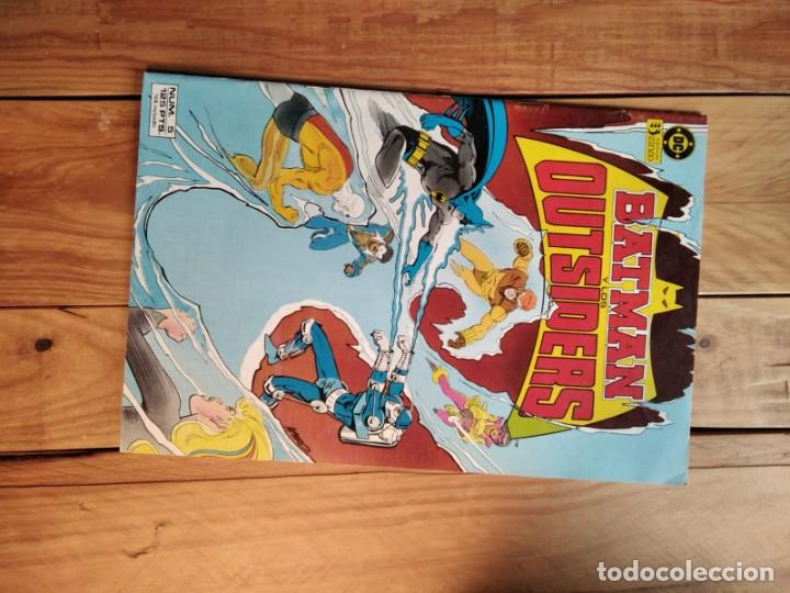 BATMAN Y LOS OUTSIDERS Nº5 (Tebeos y Comics - Zinco - Batman)