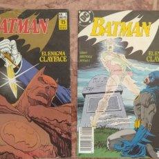 Cómics: BATMAN - EL ENIGMA CLAYFACE. Lote 210938035
