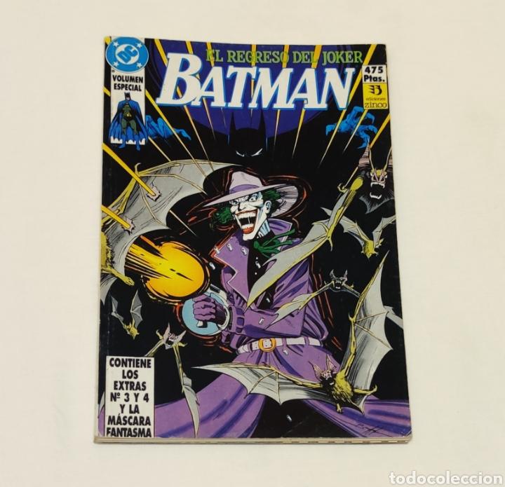 CÓMIC EL REGRESO DEL JOKER, BATMAN. EDICIÓNES ZINCO. VOLUMEN ESPECIAL (Tebeos y Comics - Zinco - Batman)