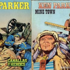 Cómics: 9 COMICS KEN PARKER N,2 AL N,10 EDICIONES ZINCO S.A.AÑO 1982. Lote 210989007