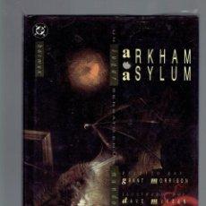 Cómics: BATMAN ARKHAM ASYLUM ESCRITO POR GRANT MORRISON EDICIONES ZINCO. Lote 211395452