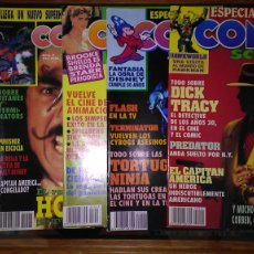 Cómics: * COMICS SCENE * LOTE DE 7 NUMEROS (VER DESCRIPCION) * EDITORIAL ZINCO AÑO 1990 *. Lote 211405707