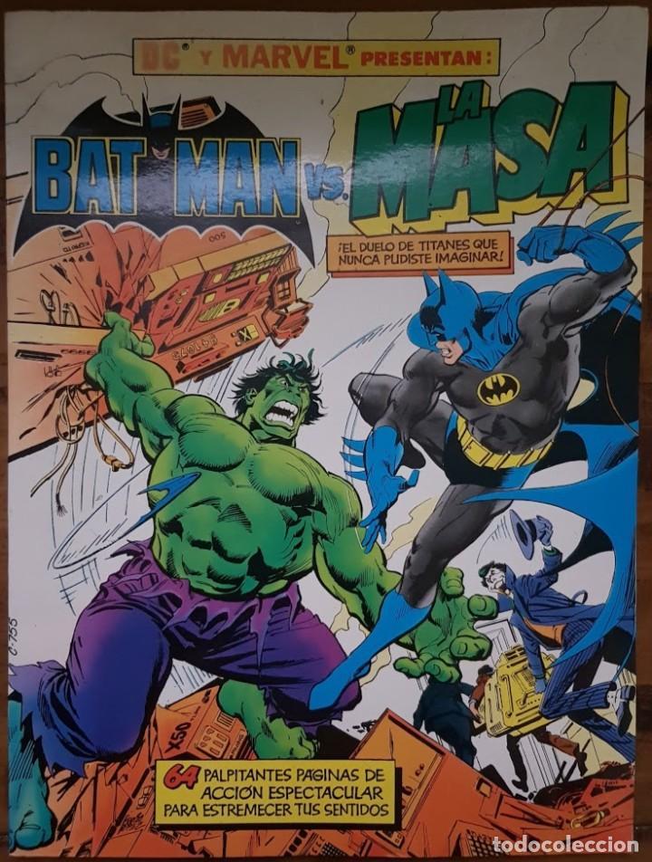 BATMAN VS LA MASA. ALBUM GIGANTE 64 PÁGINAS. ZINCO (Tebeos y Comics - Zinco - Batman)
