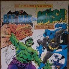 Cómics: BATMAN VS LA MASA. ALBUM GIGANTE 64 PÁGINAS. ZINCO. Lote 211577670