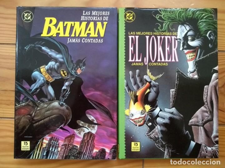 LAS MEJORES HISTORIAS DE BATMAN Y EL JOKER JAMÁS CONTADAS (Tebeos y Comics - Zinco - Batman)