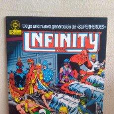 Cómics: INFINITY INC 3. Lote 211636484