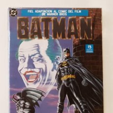 Cómics: BATMAN - FIEL ADAPTACION AL COMIC DEL FILM DE WARNER BROS - DC - ZINCO 1989 - IMPECABLE. Lote 211678493