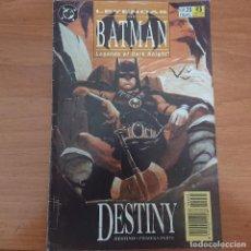 Cómics: LEYENDAS DE BATMAN DESTINY PRIMERA PARTE COMIC DC Nº 35. Lote 211679656