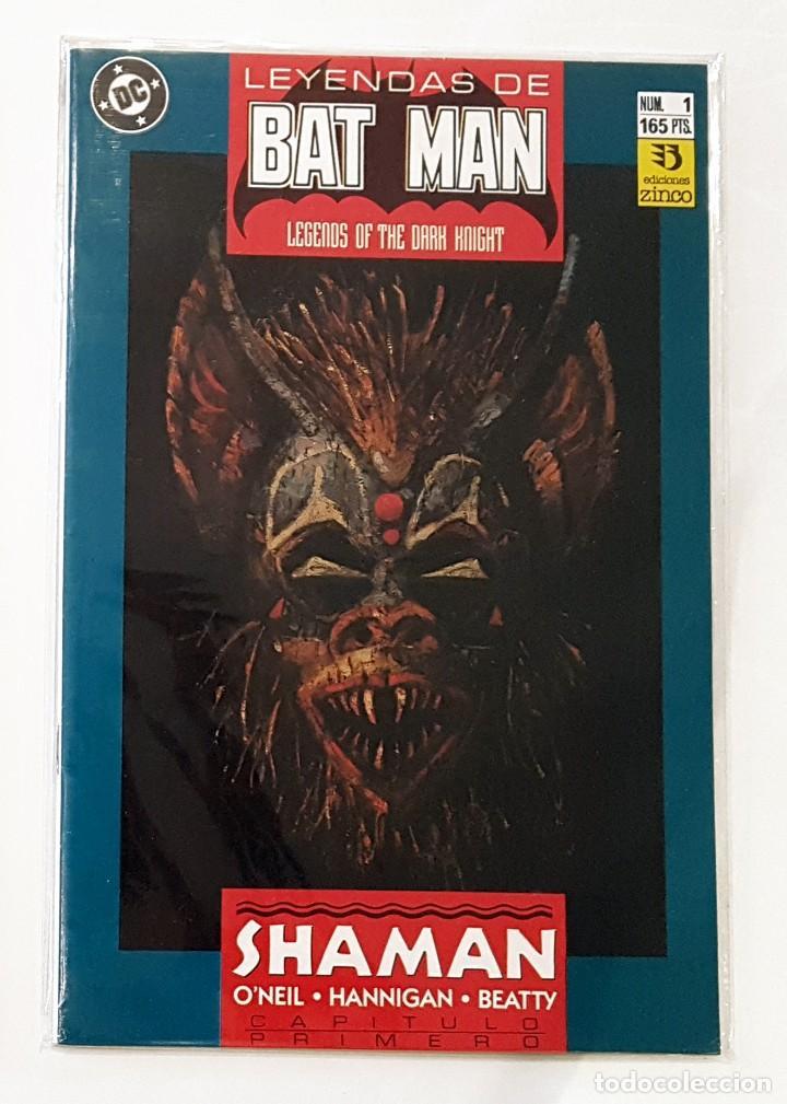 LEYENDAS DE BATMAN - Nº 1 - EDICIONES ZINCO - IMPECABLE (Tebeos y Comics - Zinco - Batman)