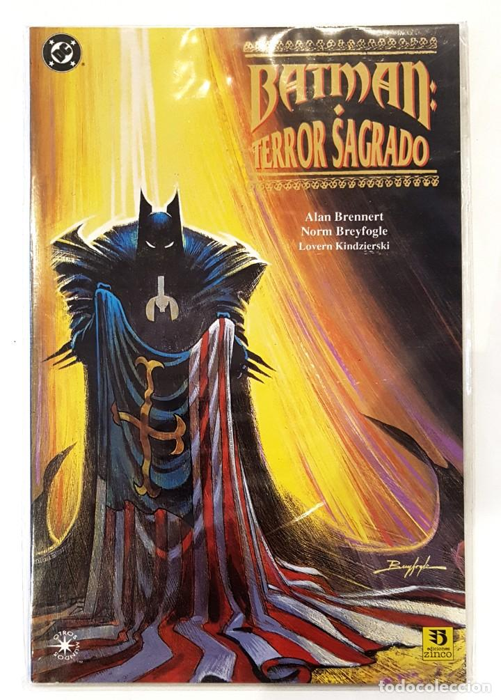 BATMAN - TERROR SAGRADO - EDICIONES ZINCO - FORMATO PRESTIGE - IMPECABLE (Tebeos y Comics - Zinco - Batman)