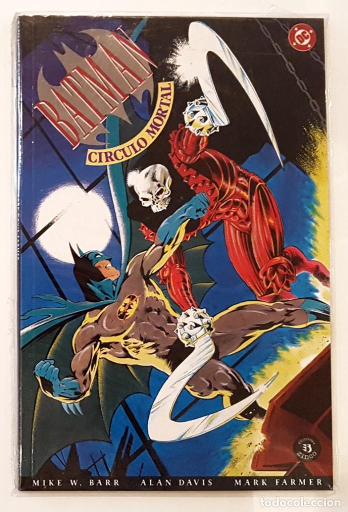 BATMAN - CIRCULO MORTAL - EDICIONES ZINCO - FORMATO PRESTIGE - IMPECABLE (Tebeos y Comics - Zinco - Batman)
