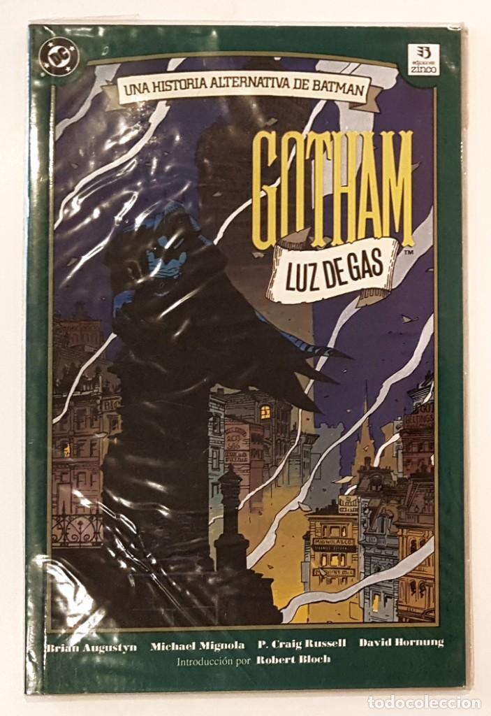 GOTHAM LUZ DE GAS - UNA HISTORIA ALTERNATIVA DE BATMAN - ZINCO - MUY BUEN ESTADO (Tebeos y Comics - Zinco - Batman)
