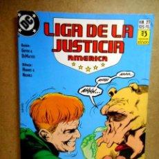 Cómics: LIGA DE LA JUSTICIA AMÉRICA Nº 27 : NECIOS, ESTÚPIDOS Y POOZERS. Lote 211861095