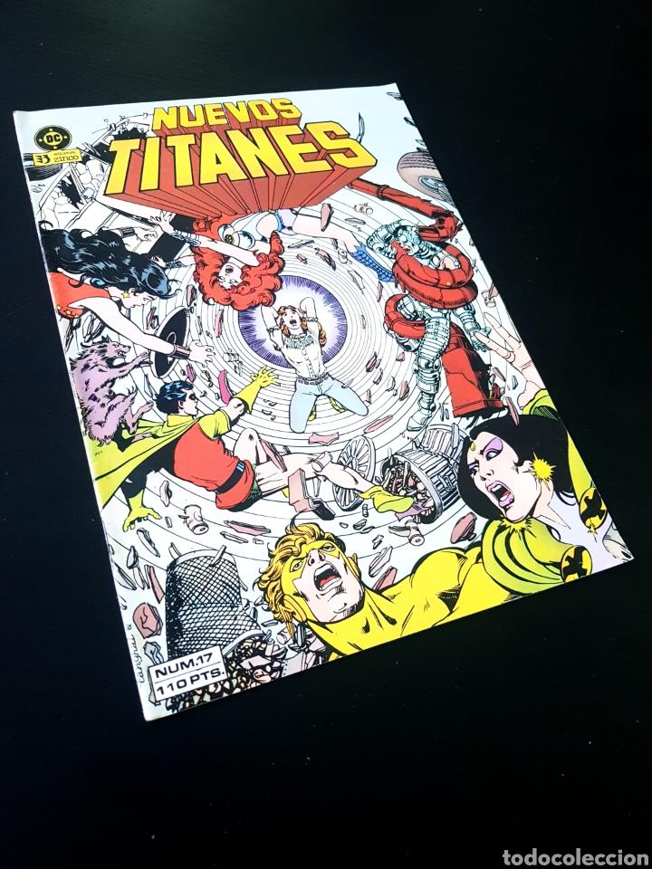 CASI EXCELENTE ESTADO NUEVOS TITANES 17 ZINCO (Tebeos y Comics - Zinco - Nuevos Titanes)