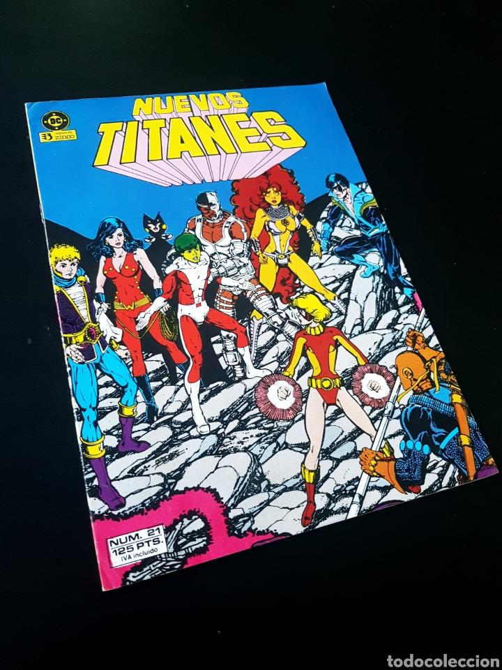 CASI EXCELENTE ESTADO NUEVOS TITANES 21 ZINCO (Tebeos y Comics - Zinco - Nuevos Titanes)