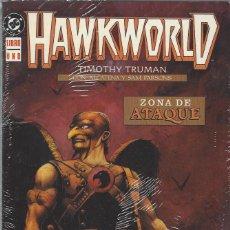Cómics: HAWKWORLD - 3 TOMOS - COMPLETA - ALCATENA - MUY BUEN ESTADO. Lote 276997298
