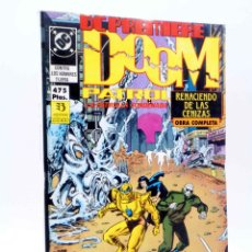 Fumetti: DC PREMIERE RETAPADO 6. NºS 14 15 16. DOOM PATROL RENACIENDO DE LAS CENIZAS (MORRISON / CASE / GARZO. Lote 231613715