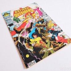Cómics: BATMAN Y LOS OUTSIDERS 4 ZINCO DE MIKE W. BARR Y JIM APARO. Lote 212303973