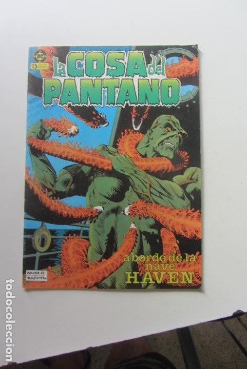 LA COSA DEL PANTANO VOL. I Nº 6: A BORDO DE LA NAVE HAVEN - ZINCO CX60 (Tebeos y Comics - Zinco - Cosa del Pantano)