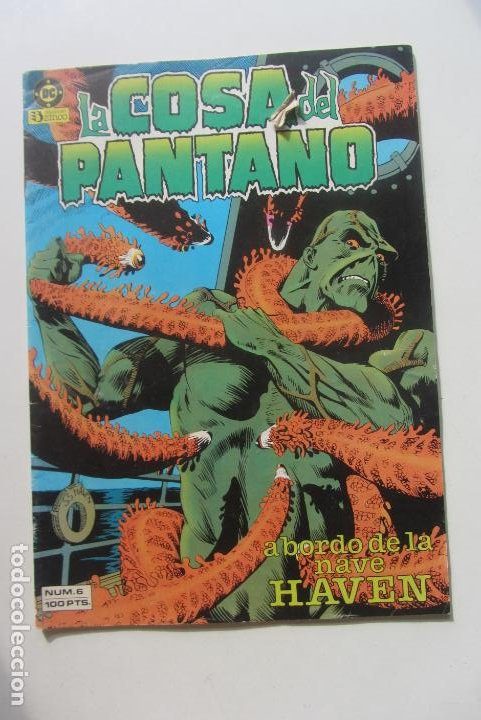 Cómics: LA COSA DEL PANTANO vol. I Nº 6: A BORDO DE LA NAVE HAVEN - ZINCO cx60 - Foto 1 - 212347150