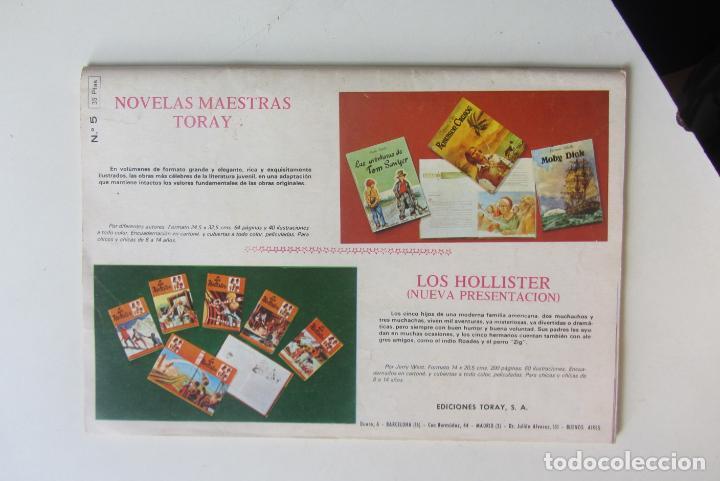 Cómics: EL HALCÓN NEGRO, ZORRO JUSTICIERO. Nº 5. LA BANDA CLINTON. URSUS - TORAY 1976 cx60 - Foto 2 - 212347455