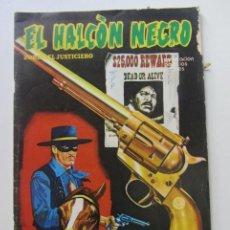 Cómics: EL HALCÓN NEGRO, ZORRO JUSTICIERO. Nº 5. LA BANDA CLINTON. URSUS - TORAY 1976 CX60. Lote 212347455