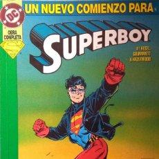 Cómics: UN NUEVO COMIENZO PARA SUPERBOY. Lote 212463997