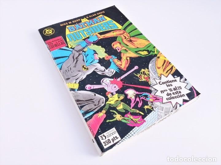 BATMAN Y LOS OUTSIDERS EDICIONES ZINCO RETAPADO Nº 16, 17, 18, 19 Y 20 ALAN DAVIS MIKE W. BARR (Tebeos y Comics - Zinco - Batman)