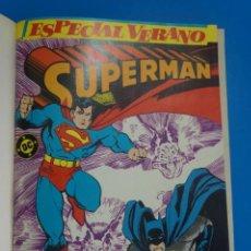 Cómics: COMIC RETAPADO DE SUPERMAN AÑO 1987 Nº 5 NUMEROS*** EDICIONES ZINCO LOTE 35 C. Lote 212583120