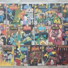 Cómics: LAS AVENTURAS DE BATMAN. COLECCIÓN COMPLETA 16 COMICS + ESPECIAL. ZINCO 1993. Lote 212598358