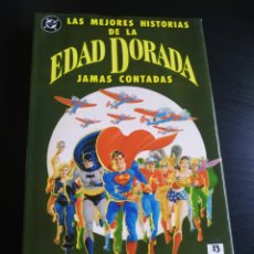Cómics: CASI EXCELENTE ESTADO LAS MEJORES HISTORIAS DE LA EDAD DORADA JAMAS CONTADA ZINCO. Lote 212598633
