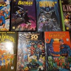 Cómics: ZINCO -LAS MEJORES HISTORIAS DE SUPERMAN, BATMAN, JOKER, GOLDEN AGE, TEAM UP, AÑOS 50 JAMAS CONTADAS. Lote 213019372