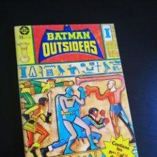 Cómics: MUY BUEN ESTADO BATMAN OUTSIDERS 11 AL 15 RETAPADO ZINCO. Lote 213048345