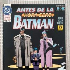 Cómics: BATMAN. ANTES DE LA HORA CERO DE CHUCK DIXON Y DOUG MOENCH. ZINCO 1995. Lote 213652475