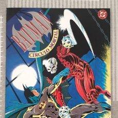 Cómics: BATMAN. CIRCULO MORTAL DE MIKE BARR Y ALAN DAVIS. NUMERO UNICO. ZINCO 1992. Lote 213653347
