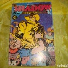Cómics: THE SHADOW. LA SOMBRA. OBRA COMPLETA. RETAPADO DE 6 Nº. EDICIONES ZINCO. Lote 213802055