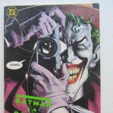 Comics : BATMAN LA BROMA ASESINA ( ALAN MOORE BOLLAND ) ZINCO CX63. Lote 213863367