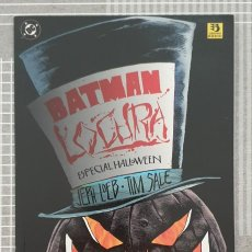 Cómics: BATMAN. LOCURA DE JEPH LOEB Y TIM SALE. NUMERO UNICO. ZINCO 1996. Lote 213896723