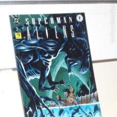 Cómics: SUPERMAN VS. ALIENS LIBRO 3 DC Y DARK HORSE - ZINCO. Lote 213907146