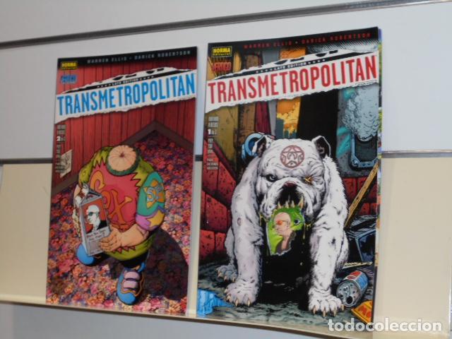 TRANSMETROPOLITAN MATAME A BESOS COMPLETA 2 NUMEROS VERTIGO - NORMA OCASION (Tebeos y Comics - Zinco - Superman)