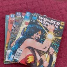 Cómics: WONDER WOMAN COMPLETA COMIC DC DE EDICIONES ZINCO 5 NÚMERO DEL 1 AL 5- SUPER HEROES. Lote 213909852