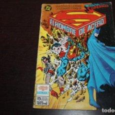 Cómics: SUPERMAN. EL HOMBRE DE ACERO. NÚMEROS 3. Lote 213922821