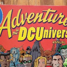 Cómics: ADVENENTURES IN THE DCUNIVERSO ANNUAL 1999 (INGLES). Lote 213956775
